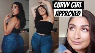 CHUBBY GIRL FRIENDLY JEANS // Monotiques Try-On Haul
