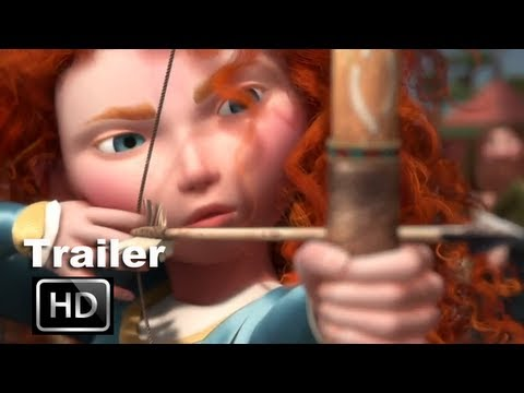 Brave 3D Official Trailer [HD]: The Prize, Kelly Macdonald, Billy Connolly vs The Bear