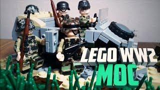 Lego WW2 MOC Нарвская Операция   Лего самоделка по Второй Мировой войне