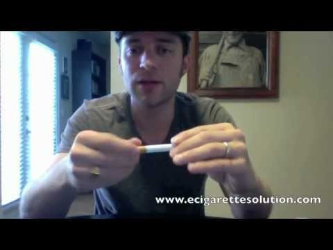 Non Nicotine Electronic Cigarette Cartomizer Review