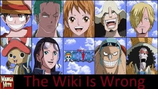 The One Piece Wiki Is Wrong
