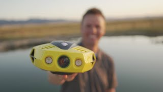 The Smallest UNDERWATER Drone!
