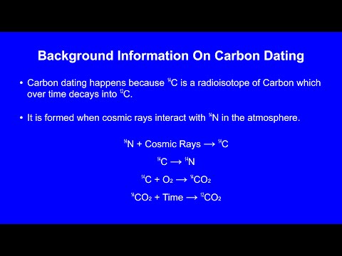 why is carbon dating ineffective