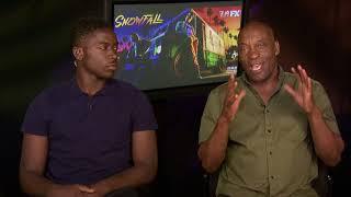 John Singleton & Damson Idris talk about Snowfall Season 2, Boyz N the Hood & Pee Wee's Playhouse