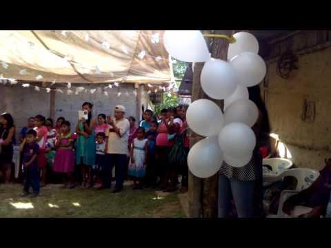 Grupo Distinto musical el vals boda de Irene y Rogelio el 30/07/16 en palo de rosa mata del tigre