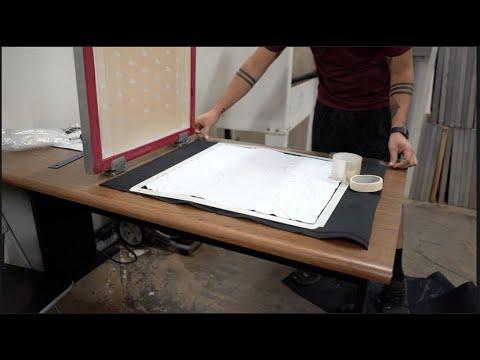 All Over Bandana Print Jig For Screen Printing