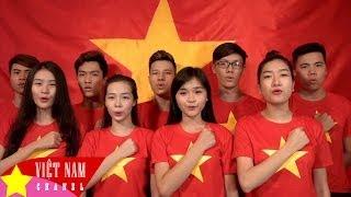 Hơn 100 nghệ sĩ Việt hát vang Quốc Ca [MV HD]