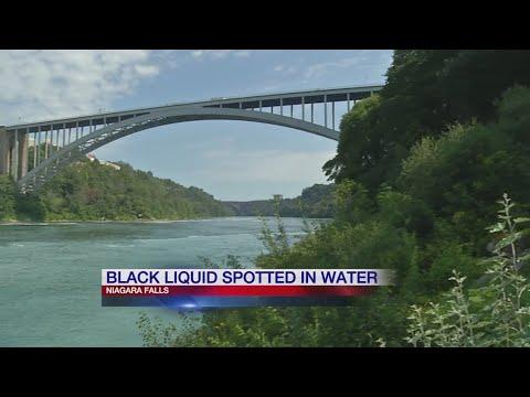 Black Liquid Spotted in Niagara River