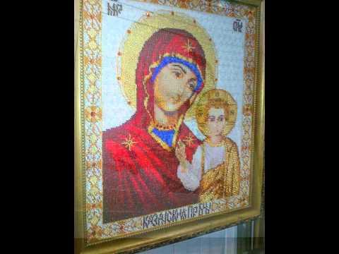 Вышивка крестом. Картинки с выставки