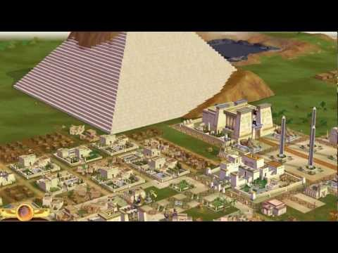 Children of the Nile: Alexandria. Building Great Pyramid, Grand Obelisk, Temple