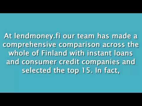 Lend Money Online In Finland At lendmoney.fi
