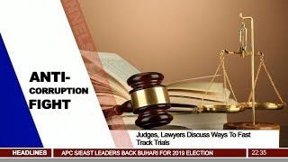 Judges, Lawyers Discuss Ways To Fast Track Trials Pt.3  News@10  22/01/18