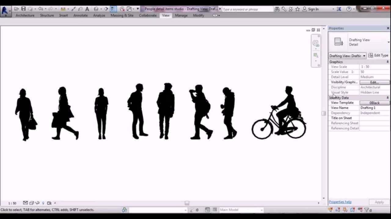 High Resolution People For Revit Youtube
