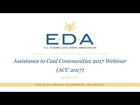 Assistance to Coal Communities 2017 (ACC 2017) Webinar