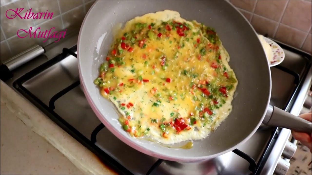 Yulaflı Sebzeli Omlet Tarifi