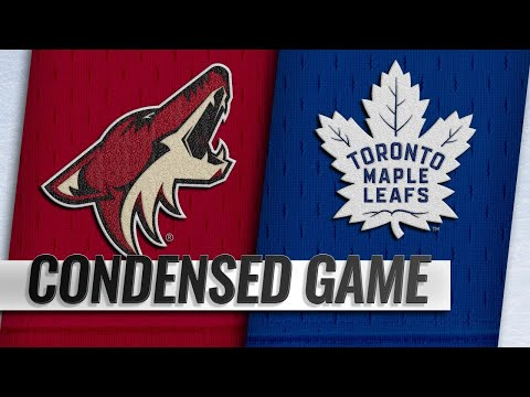 01/20/19 Condensed Game: Coyotes @ Maple Leafs