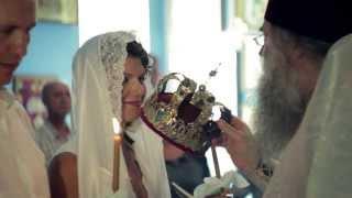 Таинство венчания в церкви  -  свадебная видеосъемка в Севастополе - prosvet.in.ua