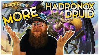 MORE Thick Hadronox Boys ● Taunt Druid ● Saviors of Uldum ● Hearthstone