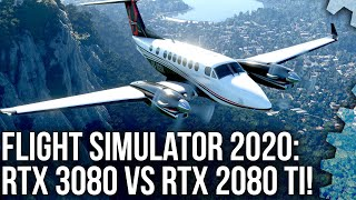 Flight Simulator 2020: RTX 3080 vs RTX 2080 Ti - a 4K Head-to-Head Shoot-Out!