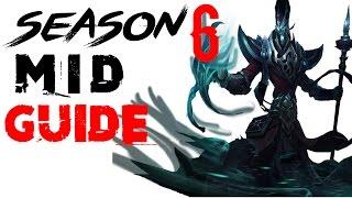(Season 6) Karthus Mid Guide - League of Legends Karthus Tutorial