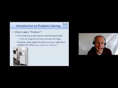 Cognitive Psychology 08 - Problem Solving & Expertise - Part 1 (Introduction to Problem Solving)