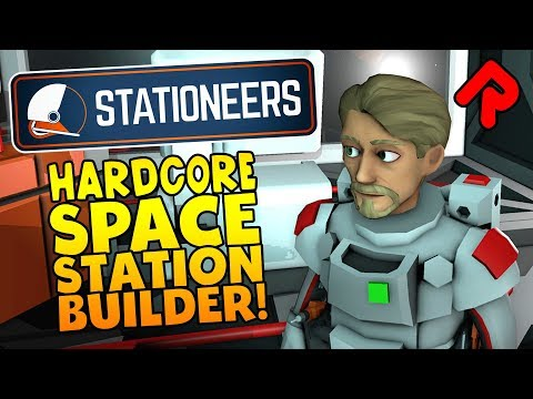 Stationeers gameplay: The Most In-Depth Space Station Builder! | Let's play Stationeers alpha (PC)