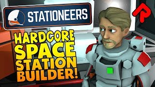 Stationeers gameplay: The Most In-Depth Space Station Builder!   Let's play Stationeers alpha (PC)