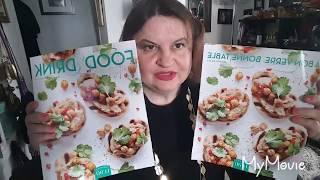 """Рассматриваю журнал """"Еда и Питьё"""" Food and Drink (magazine)"""