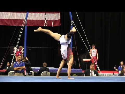Levi Anderson – Floor Exercise – 2015 P&G Championships – Sr. Men Day 2