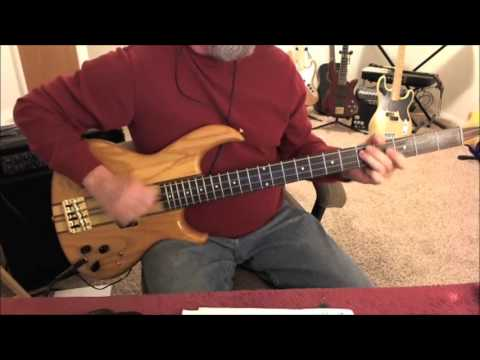 John Cougar Mellencamp - The Authority Song - Bass Cover