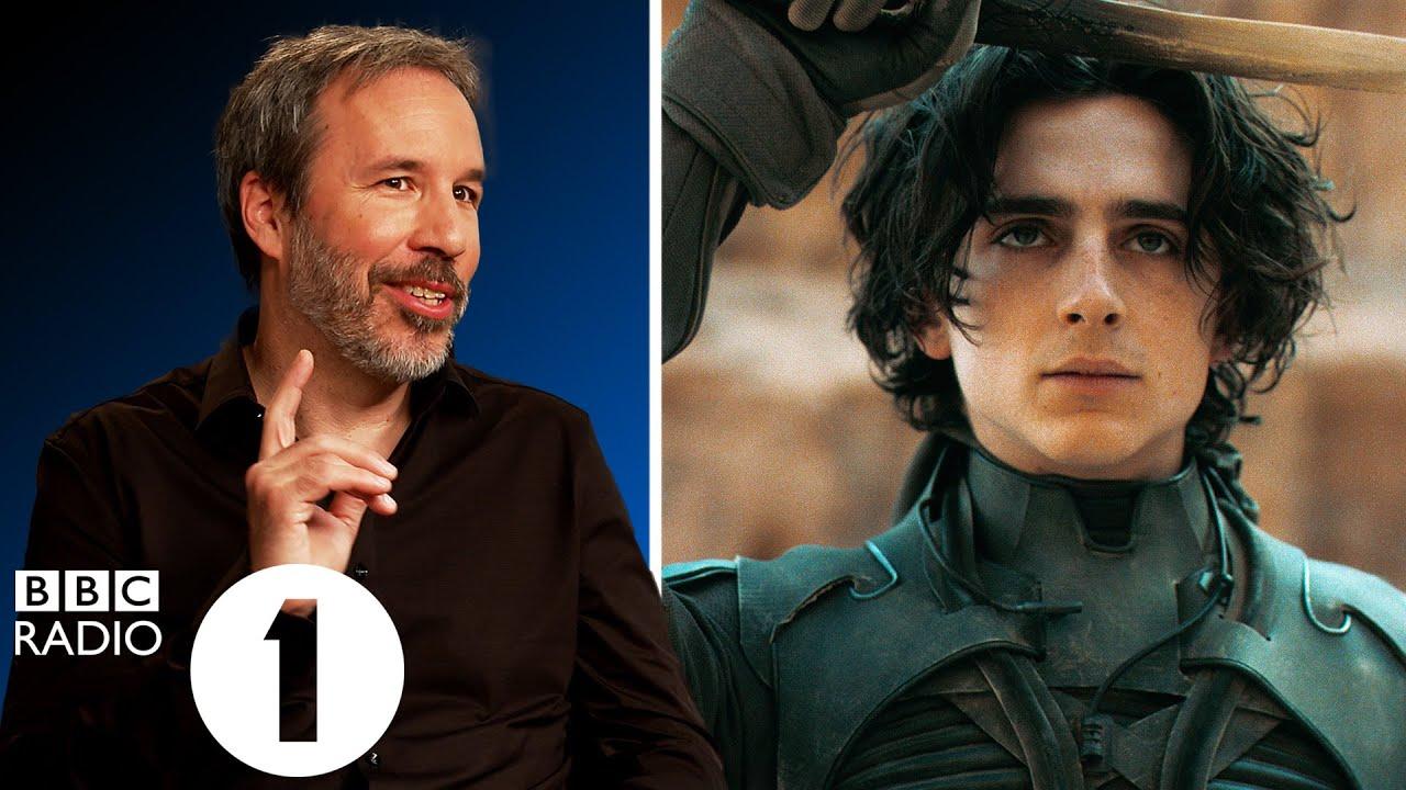 """Amazing actor, amazing"" Director Denis Villeneuve on Timothée Chalamet, Dune & cinema's importance."