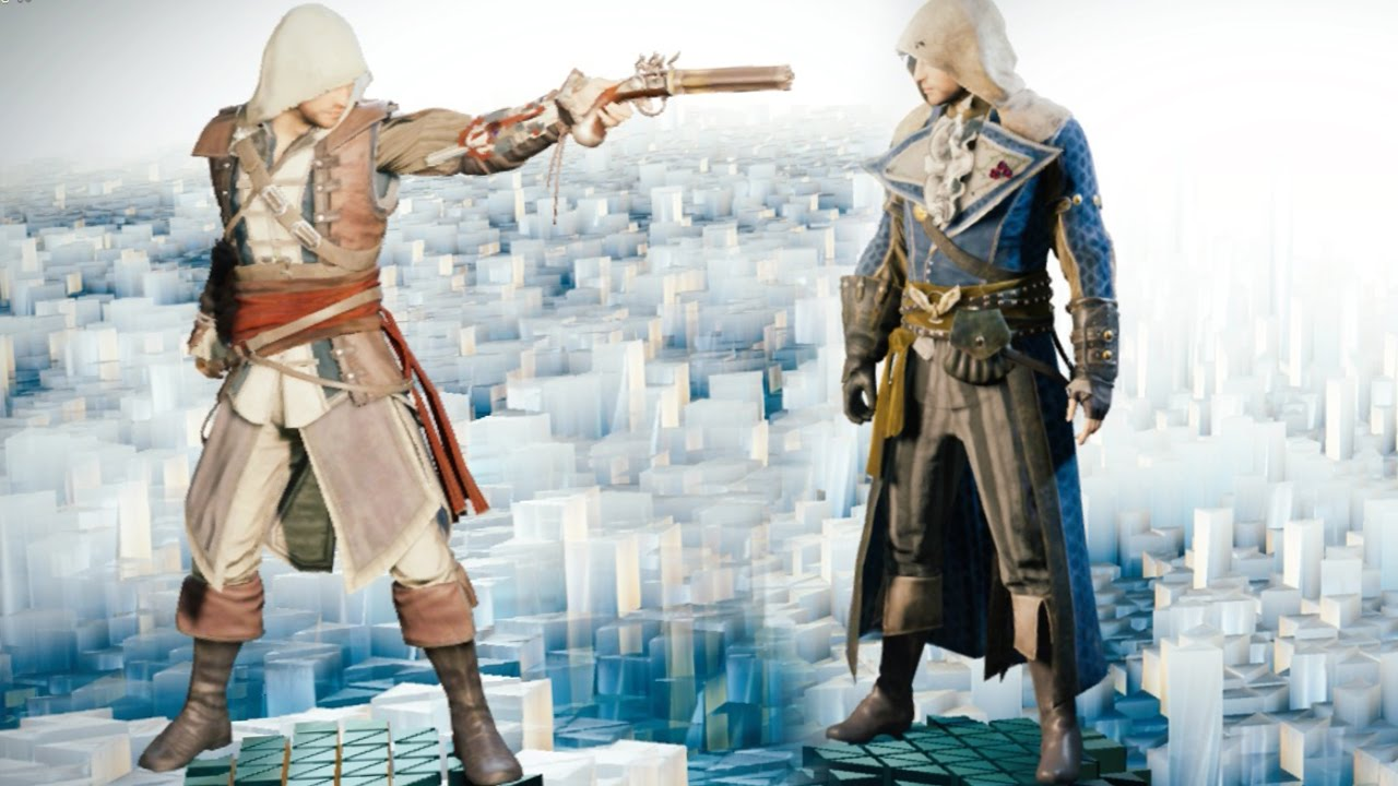 assassins creed unity edward kenway outfit amp goldplated