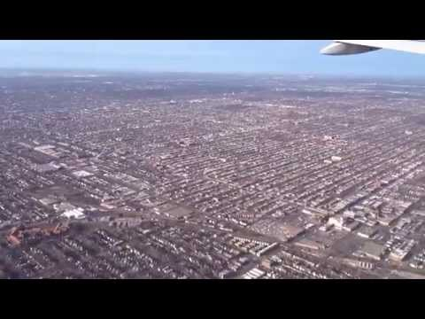 Japan Airlines flight 10 Tokyo, Japan to Chicago USA landing Ohare