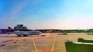 Аэропорт во Франкфурте-на-Майне. Просто работа