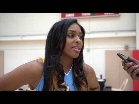 Cheyenne Parker Chicago Sky Media Day 2017 Interview
