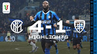 INTER 4-1 CAGLIARI | HIGHLIGHTS | An impressive win at the San Siro! 🙌🏻⚫🔵