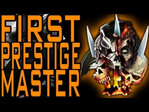 Black Ops 2 - First Official Prestige Master Combat Record! (Call of Duty BO2 Max Level)