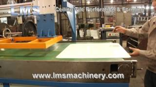 Lms 60cm Perforated Metal Ceiling Panel Production Line