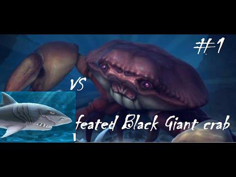 Hungry shark evolution megalodon vs giant crab - photo#42