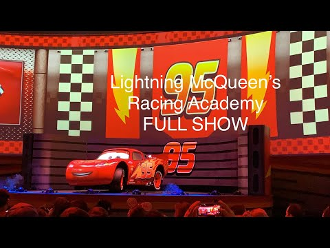 FULL OPENING DAY SHOW Lightning McQueen's Racing Academy - Disney's Hollywood Studios