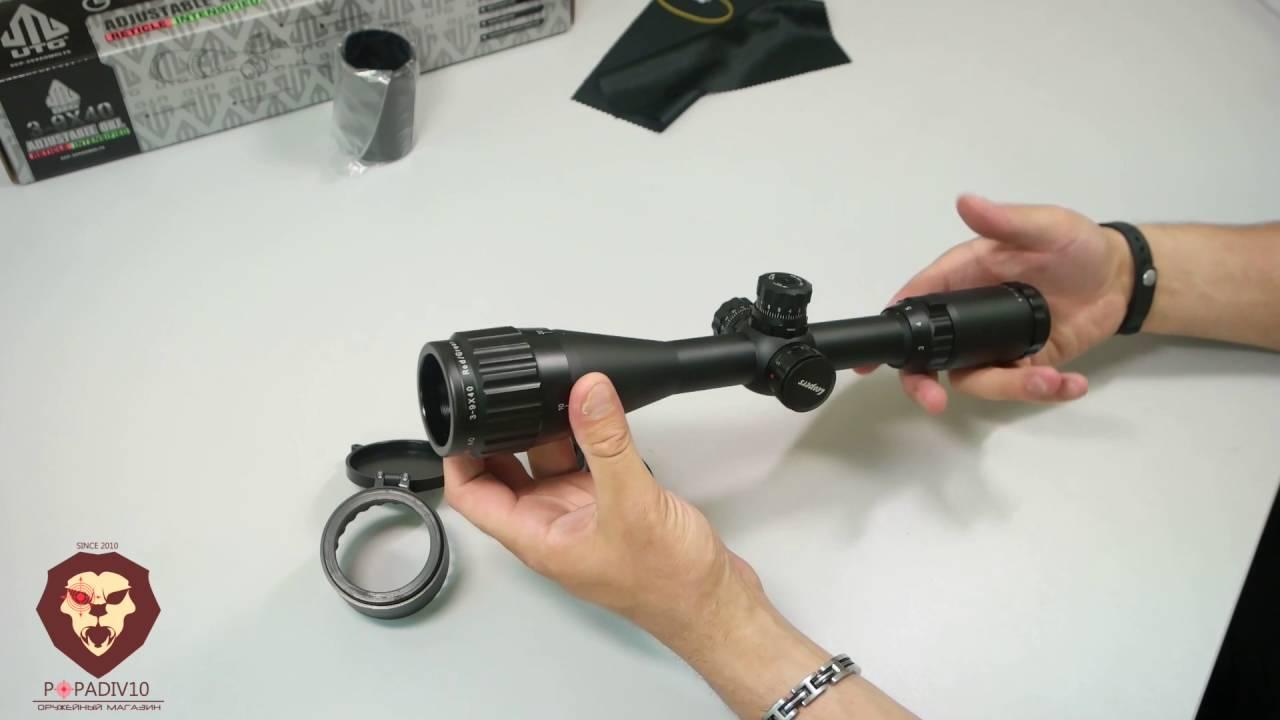 инструкция по установки прицела leapers 3 9x40