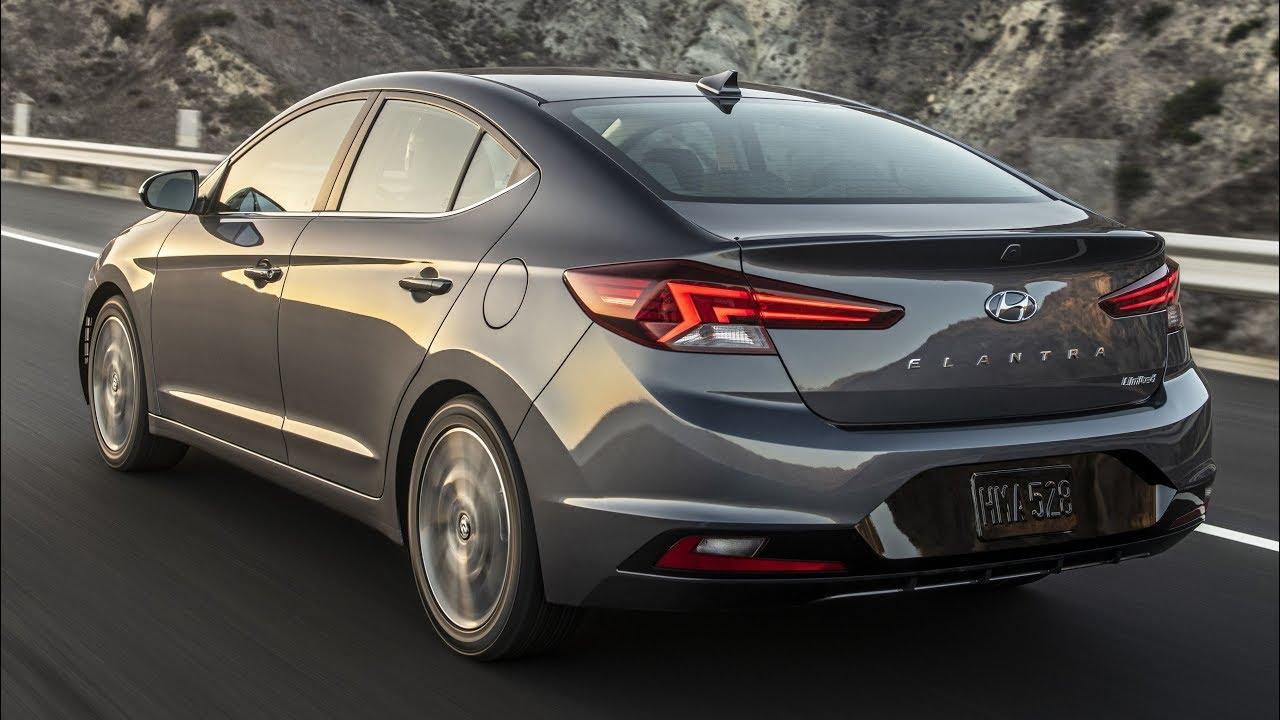 2019 Hyundai Elantra Sedan Interior Exterior And Drive