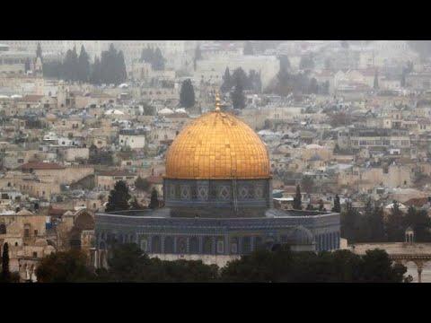 Attente fébrile à Jérusalem avant l