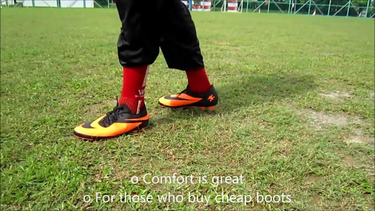 654b583a49ae Nike HyperVenom PHADES FG Boot Review And Test - YouTube