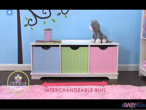 aBaby.com- Nantucket kids Storage Bench