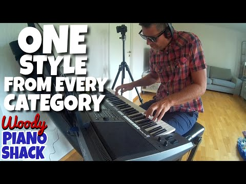 Yamaha PSR-S970 Demo & Review 07 - One style from every category!