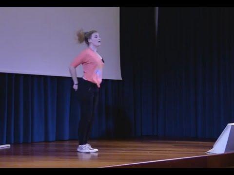 "Dance The ""Freedom"" | Gabbeh De Godoy Van Vijk & Chelise Johnson | TEDxYouth@ISF"