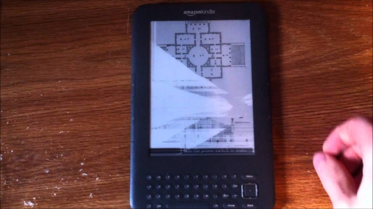 Kindle 3 Frozen Screen Issues - YouTube
