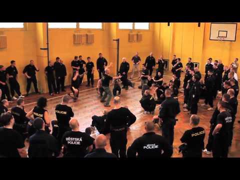 Krav Maga Institute's Antiterror Seminar for Czech Police (HD)