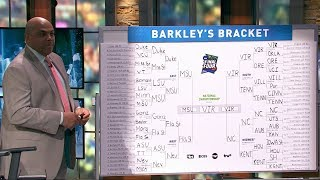 Charles Barkley breaks down his bracket and reveals his Final Four